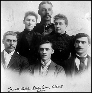 Bagley siblings in Toronto 1888