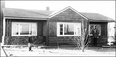 Boundary Bay house, circa late '50s