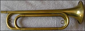 Military Trumpet 1880s